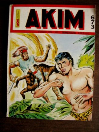 AKIM N°673 Le grand cirque (MON JOURNAL 1987)