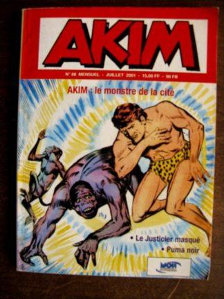 BD AKIM 2E SERIE N°88 Le monstre de la cité (MON JOURNAL 2001)