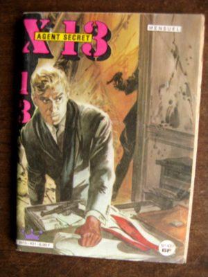 X13 AGENT SECRET N°431 (IMPERIA 1985)