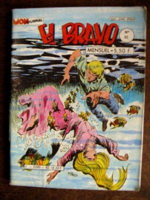 EL BRAVO N°82 (MON JOURNAL 1984)