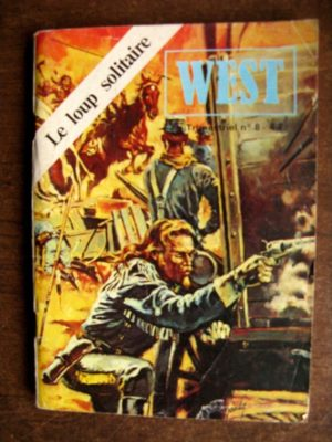 WEST N°8 BUFFALO BILL (JEUNESSE ET VACANCES 1979)