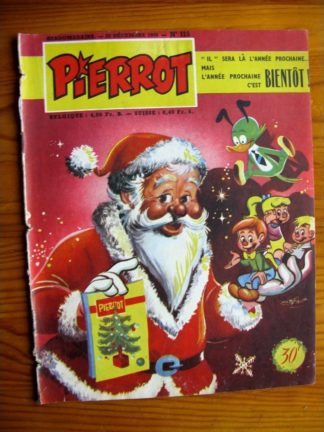 PIERROT n° 113 (25 décembre 1955) MONTSOURIS
