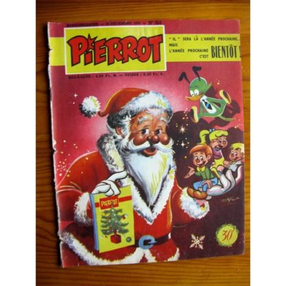 PIERROT n° 113 (25 décembre 1955) MONTSOURIS