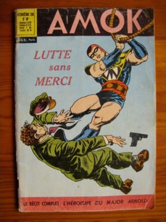 AMOK N°20 LUTTE SANS MERCI - SAGE 1967