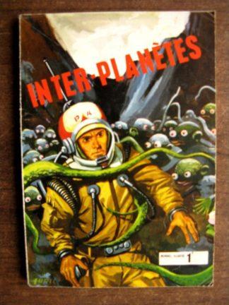 INTER-PLANETES N°2 Perdus dans l'espace (LUTECE 1969)