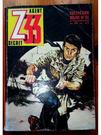 Z33 AGENT SECRET ALBUM RELIE 22 (N°85-86-87-88) IMPERIA 1980