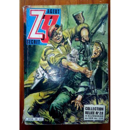 Z33 AGENT SECRET ALBUM RELIE 28 (N°109-110-111-112) IMPERIA 1982