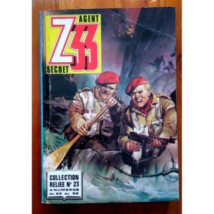 Z33 AGENT SECRET ALBUM RELIE 23 (N°89-90-91-92) IMPERIA 1980