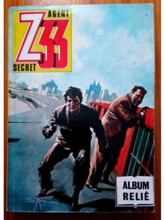 Z33 AGENT SECRET ALBUM RELIE (N°144-147-150-153) IMPERIA 1985