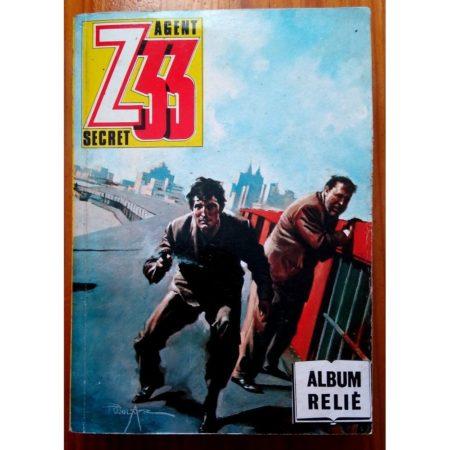 Z33 AGENT SECRET ALBUM RELIE (N°144-147-150-153) IMPERIA 1985