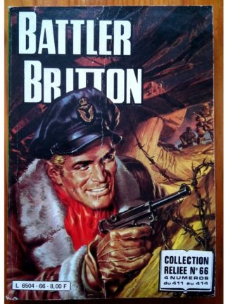 BATTLER BRITTON ALBUM RELIE 66 (N°411-412-413-414) IMPERIA 1982