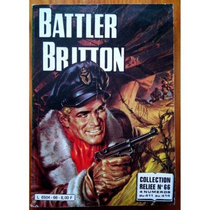 BATTLER BRITTON ALBUM RELIE 66 (N°411-412-413-414) IMPERIA 1982