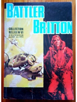 BATTLER BRITTON ALBUM RELIE 61 (N°391-392-393-394) IMPERIA 1981