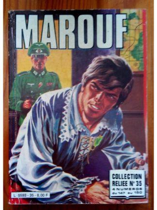 MAROUF ALBUM RELIE 35 (N°147-148-149-150) IMPERIA 1982