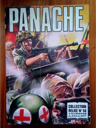 PANACHE ALBUM RELIE 56 (N°344-345-346-347) IMPERIA 1980