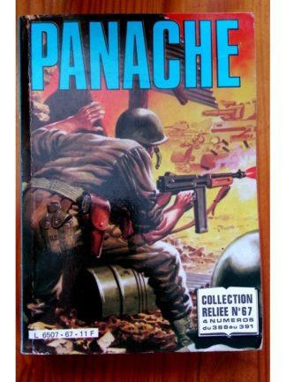 PANACHE ALBUM RELIE 67 (N°388-389-390-391) IMPERIA 1984