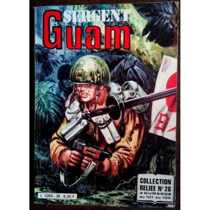 SERGENT GUAM ALBUM RELIE 26 (N°101-102-103-104) IMPERIA 1981