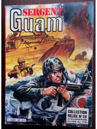 SERGENT GUAM ALBUM RELIE 28 (N°109-110-111-112) IMPERIA 1982