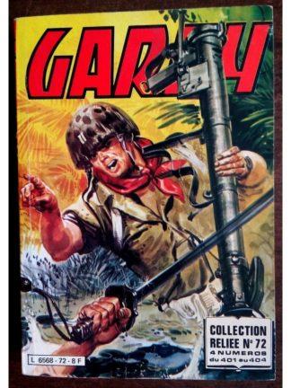 (BD) GARRY ALBUM RELIE 72 (N°401-402-403-404) IMPERIA