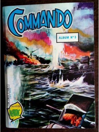 COMMANDO ALBUM RELIE 2 (N°286-287-288) AREDIT 1984
