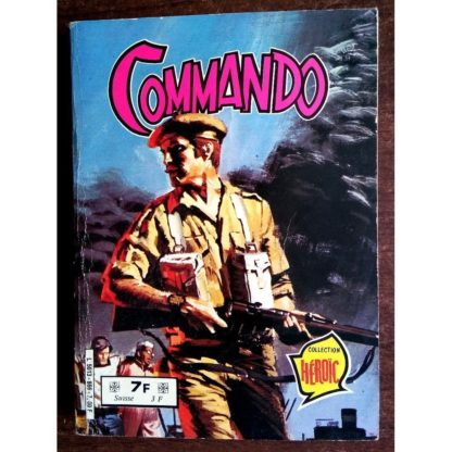 COMMANDO ALBUM RELIE 866 (N°260-261-262) AREDIT 1980