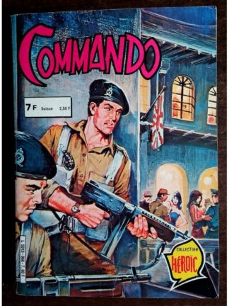 COMMANDO ALBUM RELIE 966 (N°266-269-271) AREDIT 1981