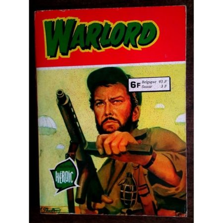 WARLORD RECUEIL 820 (N°31-32-33) AREDIT COLLECTION HEROIC 1979