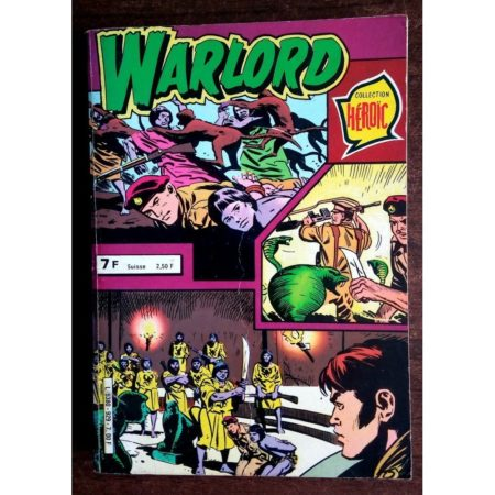 WARLORD RECUEIL 929 (N°40-41-44) AREDIT COLLECTION HEROIC 1980