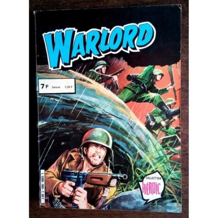 WARLORD ALBUM RELIE 960 (SPECIAL N°2-3) AREDIT COLLECTION HEROIC 1980