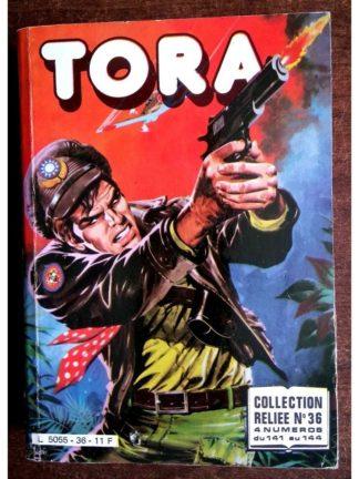TORA LES TIGRES VOLANTS ALBUM RELIE N°36 (N°141-142-143-144) IMPERIA 1984