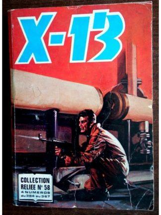X13 AGENT SECRET ALBUM RELIE 58 (N°364-365-366-367) IMPERIA 1980