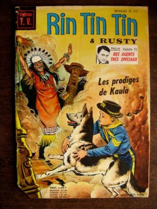 RINTINTIN VEDETTE TV N°113 - SAGE 1969