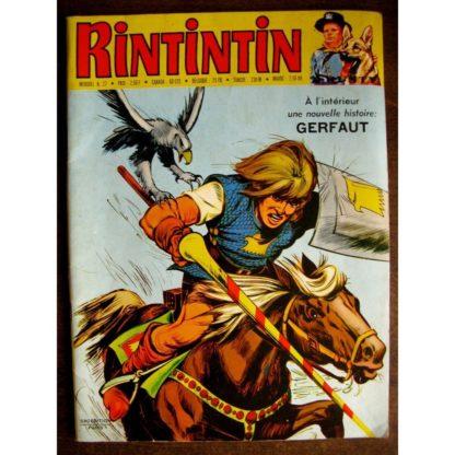 RINTINTIN N°27 - SAGE 1972 (Gerfaut - Pépito)