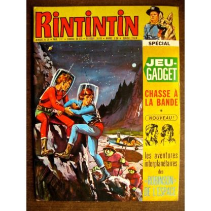RINTINTIN N°25 - SAGE 1972 (Willy West)
