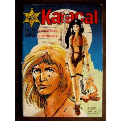 KARACAL N°3 YOR LE CHASSEUR - ALAMO KID - SAGEDITION 1976