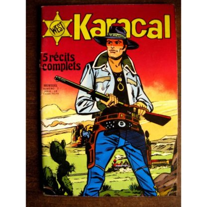 KARACAL N°2 YOR LE CHASSEUR - COBRA - SAGEDITION 1976