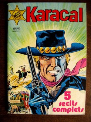 KARACAL N°1  YOR LE CHASSEUR – COBRA – SAGEDITION 1976