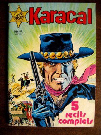 KARACAL N°1 YOR LE CHASSEUR - COBRA - SAGEDITION 1976