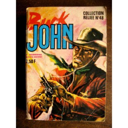 BUCK JOHN ALBUM RELIE 48 (N°376-377-378-379-380-381-382-383) IMPERIA 1970