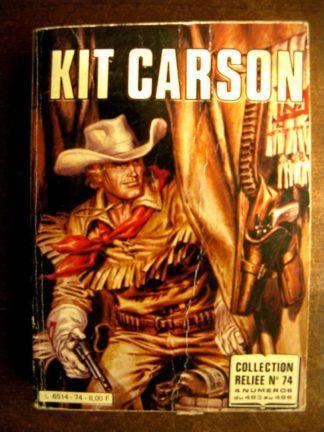 KIT CARSON ALBUM RELIE 74 (483-484-485-486) IMPERIA 1980