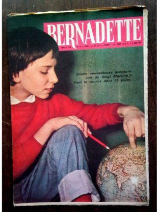 BERNADETTE N°193(6 mars 1960) Moustache et Trottinette (Calvo) Priscille et Olivier (Le désert fleurira)