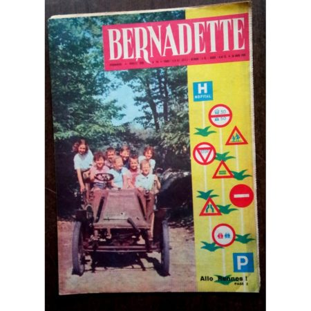 BERNADETTE N°195 (20 mars 1960) Moustache et Trottinette (Calvo) Marco Polo (Pierdec)