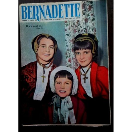 BERNADETTE N°196 (27 mars 1960) Moustache et Trottinette (Calvo) Marco Polo (Pierdec)