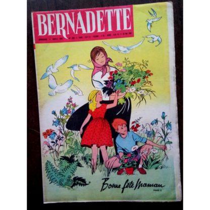 BERNADETTE N°205 (29 mai 1960) Moustache et Trottinette (Calvo) Marco Polo (Pierdec)