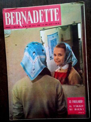BERNADETTE N°206 (5 juin 1960) Moustache et Trottinette (Calvo) Marco Polo (Pierdec)