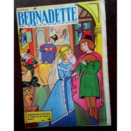BERNADETTE N°207 (12 juin 1960) Moustache et Trottinette (Calvo) Légende Savoyarde - Claude Soleillant)