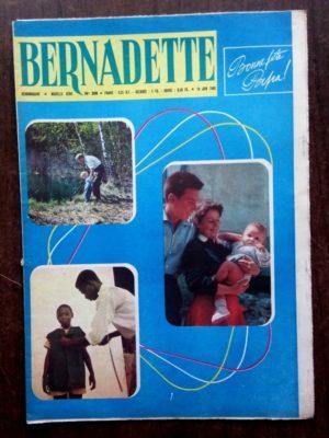 BERNADETTE N°208 (19 Juin 1960) Moustache et Trottinette (Calvo) Marco Polo (Pierdec)