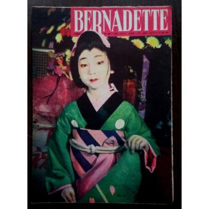 BERNADETTE N°209 (26 juin 1960) Moustache et Trottinette (Calvo) Légende Japonaise (Léonide)