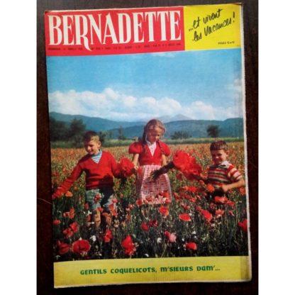 BERNADETTE N°210 (3 juillet 1960) Moustache et Trottinette (Calvo) Poupée Nadette (costume Niçois)