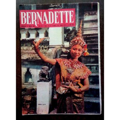 BERNADETTE N°217 (21 août 1960) Moustache et Trottinette (Calvo) Légende Cambodgienne (Léonide)